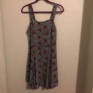 Cooperative Apron Godet Dress